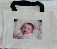 Personalised Printed Canvas Bag, Any Photo Printed & Text