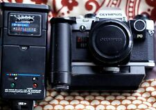 Olympus OM-10 35mm SLR Film Camera with extras