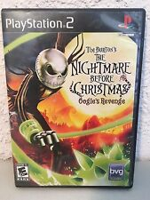 Tim Burton's The Nightmare Before Christmas: Oogie's Revenge (Sony PlayStation 2