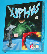 Xiphos - Electronic Zoo - Commodore Amiga 500 A500 - PAL New Nuovo Sealed