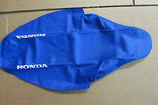 TEAM HONDA SEAT COVER BLUE GRIPPER  2000-2001 CR125 CR250 CR250R