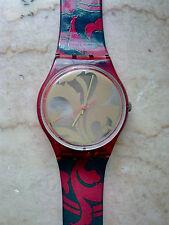 """orologio swatch  STANDARD GENT modello """"LOUIS LOUIS""""GR106 anno 1990 NUOVO RARO"""