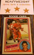 STEVE YZERMAN ROOKIE CARD 84-85 O-PEE-CHEE #67 NMMT OR BETTER $$ RED WINGS $$
