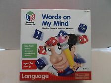 Words On My Mind Shake, Toss And Create Words Learning Resources #LSP 8407-T