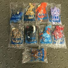 """Lot of 9 AVON """"FULL O BEANS"""" Animals- All NEW in bags"""