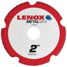 "NEW LENOX 1972917 2"" METALMAX GRINDER METAL CUTTING CUT-OFF WHEEL SALE"