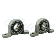 2X Diameter Zinc Alloy Bore Ball Bearing Pillow Block Mounted Support KP003 17mm
