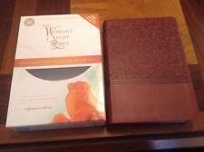 NIV Womans Study Bible - $74.99 Retail - Auburn Leathersoft