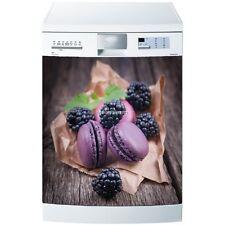 Magnet lave vaisselle Macarons et mûres 60x60cm réf 5503 5503