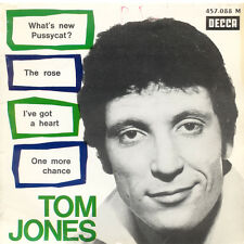 TOM JONES What's New Pussycat The Rose I've Got A Heart Fr Press Decca 457088 EP