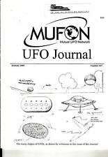 MUFON UFO Journal #417 January 2003 The Many Shapes of UFOs Great Britain