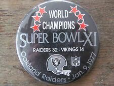 1977 Athletic Toss Coin Oakland Raiders Super Bowl Champions | eBay