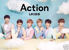 U-KISS Japan 4th Album [Action] (CD + DVD + Photobook) Limited Edition K-POP