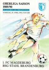 OL 89/90 1. FC Magdeburg - BSG Stahl Brandenburg