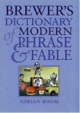 Brewer's Dictionary of Modern Phrase & Fable, Room, Adrian, Good Book