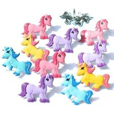 BRIGHT  PONY    BRADS  *4 COLORS *  EYELET OUTLET  8 PCS