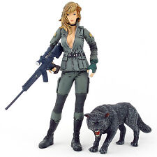 "Metal Gear Solid SNIPER WOLF 6"" Complete Action Figure McFarlane 1999"