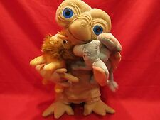 E.T. Extra Terrestrial STUFFED PLUSH stuff animal Doll Figure w/lion elephant