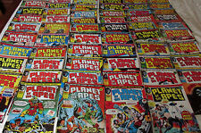 62 x Planet of The Apes Comics-1975 to 1976-MARVEL-UK -Great Condition #2-63