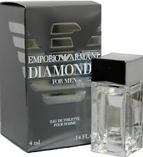Emporio Armani Diamonds 0.14oz./14ml Edt Mini Splash For Men New In Box