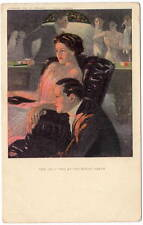 Underwood Art Postcard Lovers, The Only Two At The House Party~105689