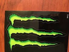 Monster Energy Sticker 3X4