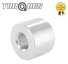 "1/8"" NPT Female Aluminium Weld On Fitting Ideal for Turbo Oil feed / Sensor"
