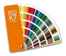 RAL K7 Classic Colour Chart - Brand new. Fan style guide. UK delivery only 99p.