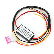 New Car Led Daytime Running Light Relay Harness DRL ControlL ON/OFF Automatic