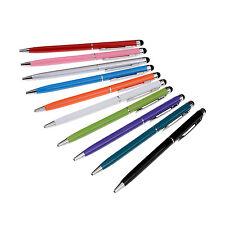 10er Eingabestift Stylus Stift f. PDA Tablet Smartphone Handy mit Kugelschreiber
