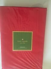 "kate spade new york ""Larabee dot"", cotton blend tablecloth, 70 X 86"" cranberry"