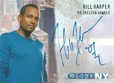 CSI New York Series 1 Auto Card CSI-NY-A5 Hill Harper as Dr Sheldon Hawkes