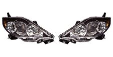 2006 2007 MAZDA 5 HEAD LAMP LIGHT HALOGEN RIGHT LEFT AND RIGHT PAIR SET