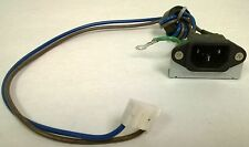 Power Jack 1712-0101-0620 pulled from a Vizio VX42LHDTV10A TV w/  cracked screen