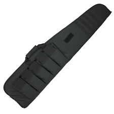 140cm Padded Airsoft Tactical Hunting Gun Rifle Carry Slip Case Bag Pack Black