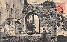 4073) TENDA (CUNEO ORA IN FRANCIA) VIA COTTA. ANIMATA. VIAGGIATA NEL 1907.