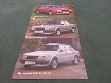 1988 SKODA Estelle 120L FIVE 130 GL SALOON + RAPID COUPE UK 3 PART BROCHURE PACK