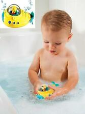 Munchkin Undersea Explorer Baby/Childrens Yellow Submarine Bath Toy Age 1 +