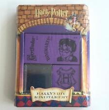 Harry Potter Harry's Life Mini Stamp Set - Hogwarts Gryffindor Art