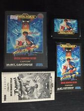 NEW OLD STOCK Sega Genesis Mega Drive GAMES STREET FIGHTER 2