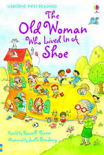 The Old Woman Who Lived In The Shoe Hard Back Usborne 9780746096550