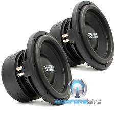 "(2) SA-10D4 SUNDOWN AUDIO SUBS 10"" DVC 4 OHM LOUD PRO BASS SUBWOOFERS PAIR NEW"