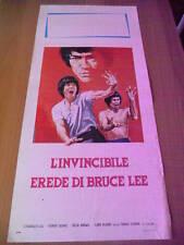 Locandina L'INVINCIBILE EREDE DI BRUCE LEE 1980