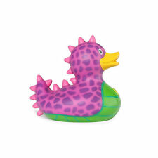 PURPLE DRAGON MINI BUD DUCK PVC RUBBER BATH DUCKY NOVELTY COLLECTORS MONSTER