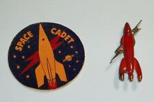 1950's Tom Corbett Space Cadet Cereal Premium Prototypes Pin & Button