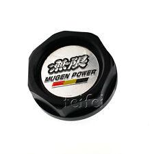 Gunmetal MUGEN fit Honda black Power BILLET Engine oil Caps Car Filler cover
