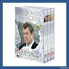 MIDSOMER MURDERS -15TH ANNIVERSARY CRYSTAL COLLECTION *BRAND NEW DVD *