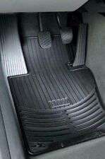 2 BMW OEM Genuine E70 X5 Front All Weather Rubber Floor Mats - BLACK