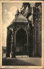 Nijmegen Niederlande Nederland AK 1932 Hoffdingang Stevenskerk Kirche Kathedrale