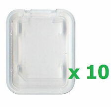 10 x Jewel Memory Card Storage Plastic Case for Sandisk 2 4 8 16 32GB SDHC MSPD